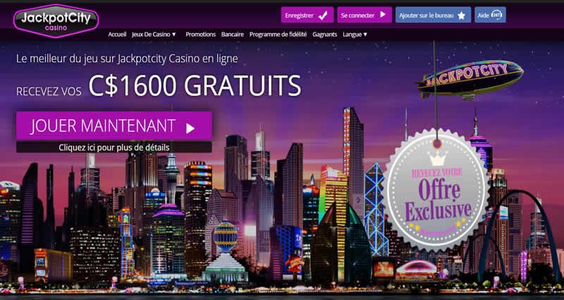 Jackpot City Casino en français
