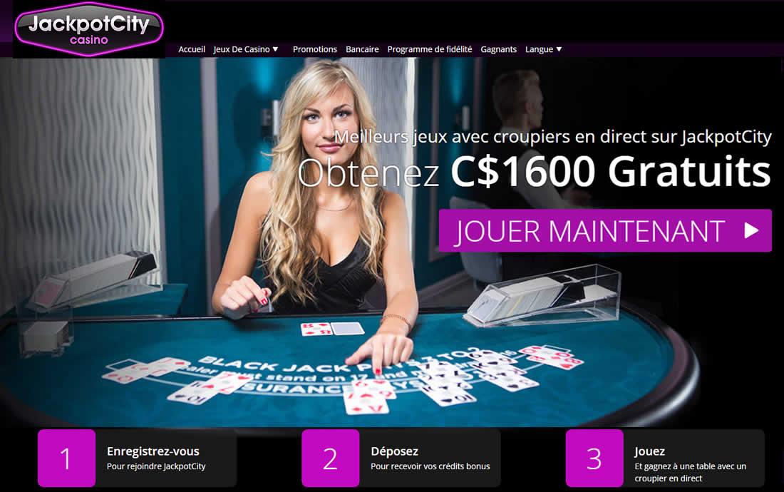 Jeux de casino en live au Canada
