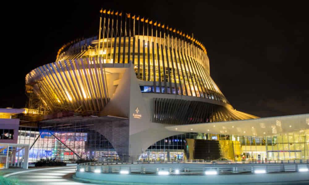 Le casino de Montréal situé au centre ville de Québec City.