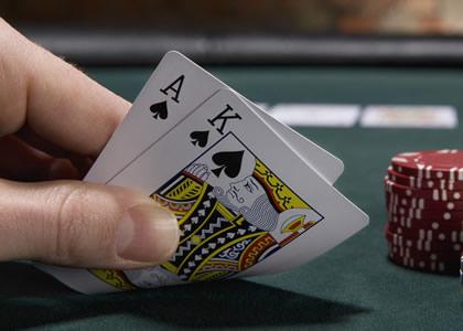 Le blackjack est un jeu de carte mythique.
