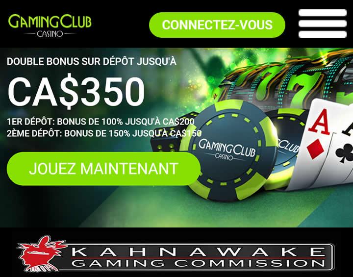 Gaming Club - Depuis 1994 au Québec