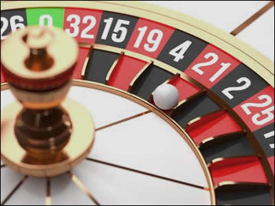La mythique roulette de casino en version européenne.